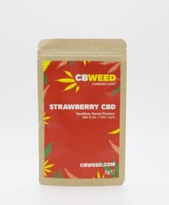 Cannabis Light Strawberry CBD 5g EU